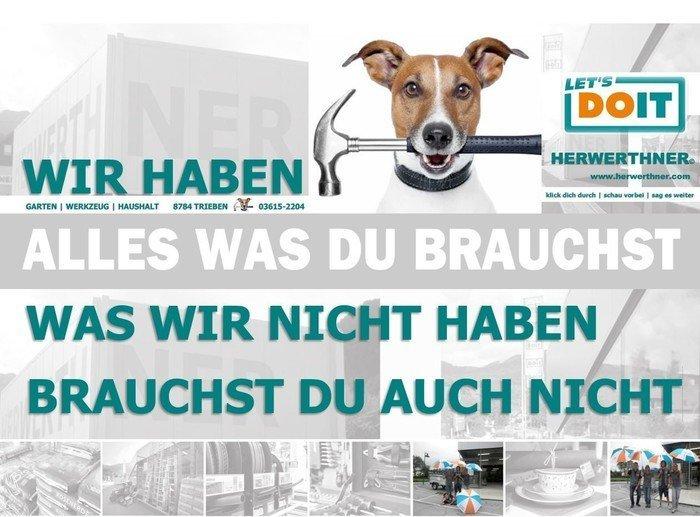© HERWERTHNER GmbH in Trieben_LET'S DOIT Fachgeschäft_Garten,Werkzeug,Haushalt