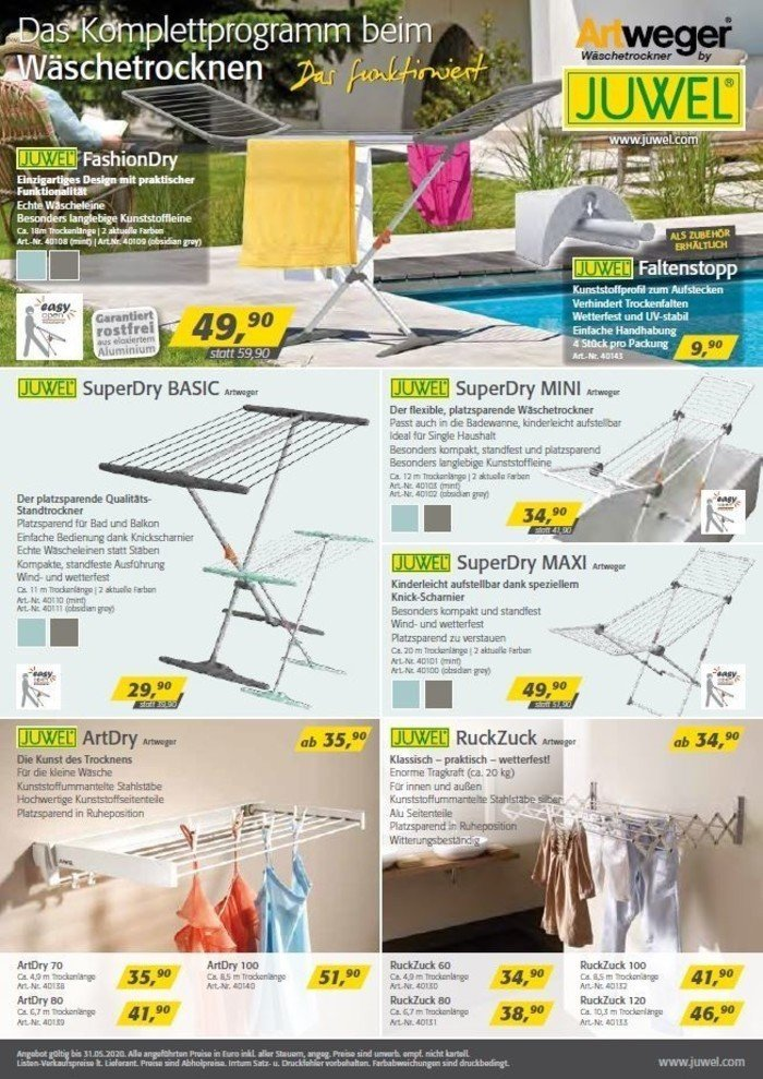© JUWEL - Intelligente Produkte für Garten und Haushalt_LET'S DOIT HERWERTHNER GmbH. Trieben - GARTEN | WERKZEUG | HAUSHALT