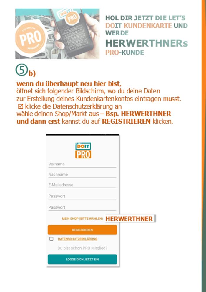 ©HERWERTHNERs PRO-Anmeldehilfe 7 - werde unser PRO-Kunde