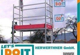 © HERWERTHNER GmbH. Leihgerüst