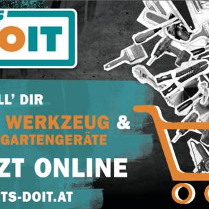 ©LET'S DOIT Teaser Onlineshop_unsere Sortimente kennenlernen - Werkzeug online reservieren - bei uns im Geschäft abholen - oder gleich direkt nach Hause liefern lassen!