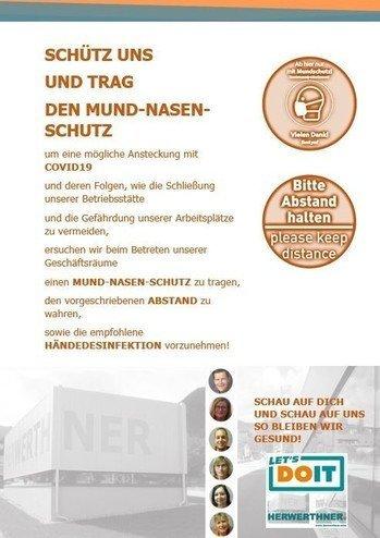 !TRAG DEN MUND-NASEN-SCHUTZ_©LET'S DOIT HERWERTHNER GmbH. Trieben - GARTEN   WERKZEUG   HAUSHALT