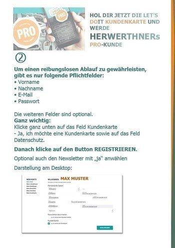 ©HERWERTHNERs PRO-Anmeldehilfe 2 - werde unser PRO-Kunde
