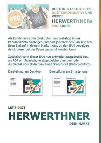 ©HERWERTHNERs PRO-Anmeldehilfe 4 - werde unser PRO-Kunde