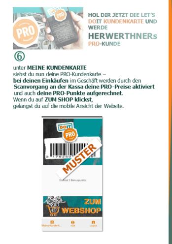 ©HERWERTHNERs PRO-Anmeldehilfe 8 - werde unser PRO-Kunde